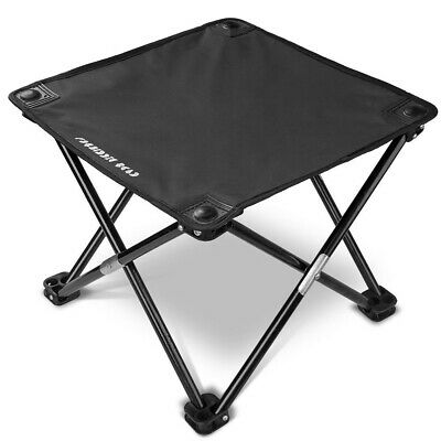 Ultralight Camping Chair Fold Up Fishing Picnic Outdoor Mini Portable Stool Seat