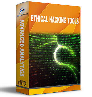 Ethical Hacking Tools  Advanced Analytical Tools 2 DVD SET