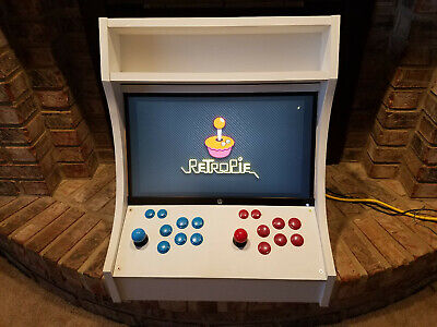 TABLE TOP ARCADE Cabinet Kit - Black, Fast Assembly hardware