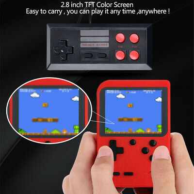 Video Handheld Game Console Retro Doubles Player 3.0 Inch Lcd 8 Bit Portable AU