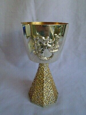 Limited Edition Ely Cathedral Aurum Hallmarked Silver Goblet W/Box & Booklet