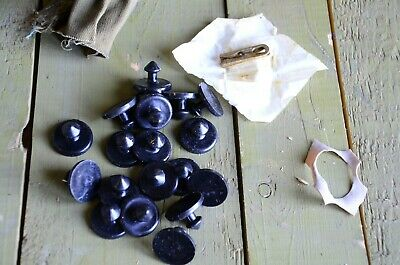 Genuine Buttons for Soviet and Russian Army Chemical Protection Сoat OZK