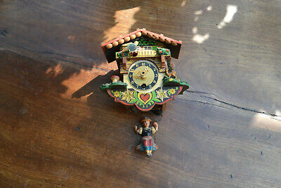 bouncing lady cuckoo clock for rerstoration