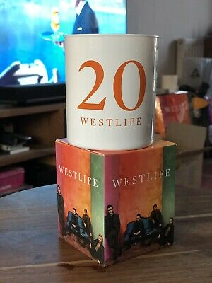 WESTLIFE 2019 TOUR VIP Merchandise Candle  The Twenty Tour  New