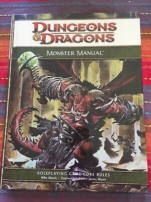 D&d Core Rulebook: Monster Manual by Mike Mearls, James Wyatt, Wizards RPG...