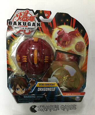 Bakugan Battle Planet Deka Dragonoid Jumbo Bakucore Play Set New