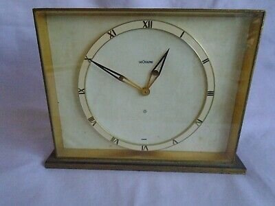 Antique Lecoultre 8 Day Mantel  Clock In Good Working Order