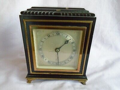 Vintage  Elliott Mantel Clock In Good Working Order