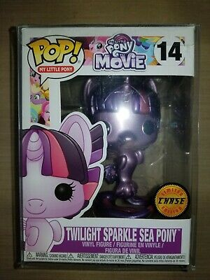 20115ede8 Funko Pop! My Little Pony: MLP Movie - Twilight Sparkle Sea Pony Chase  Edition