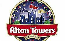 6 x Alton Towers E Tickets for Wednesday 3 July 3/07/19 - Email delivery
