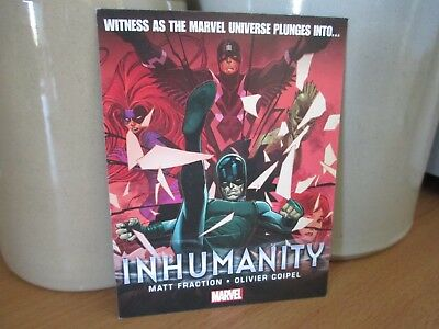 INHUMANITY Promo Art Card Marvel Comics