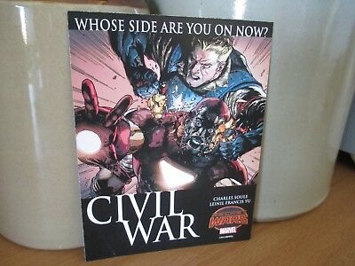 SECRET WARS CIVIL WAR Promo Art Card Marvel Comics | Reverse AGE OF APOCALYPSE