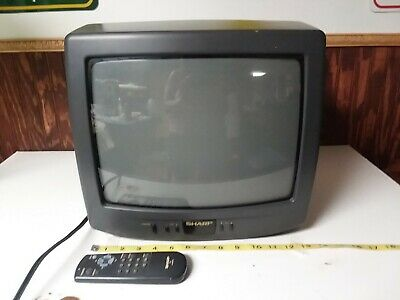 "1994 Vintage 13"" Sharp TV 13F-M40"