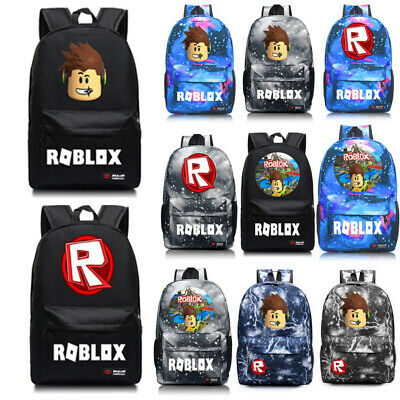 Roblox Schoolbag Kid Boys Backpack Insulated  Lunch Bag Pen Bag Travel Bags