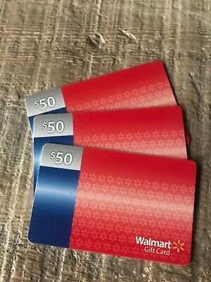 $150 Walmart Gift Card No Fees or Expiration Date No Cost to Reload in Stores