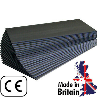 6mm & 10mm UNDERFLOOR UNDER FLOOR HEATING INSULATION XPS BOARDS (BLK)