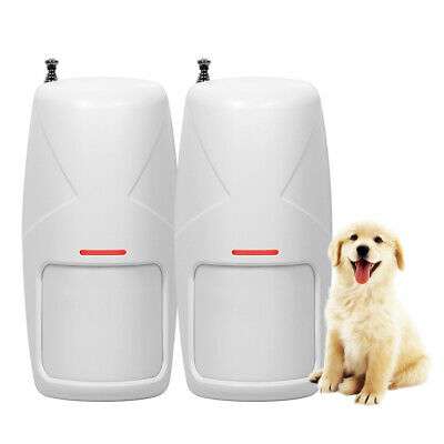 Wireless pet Immune Motion PIR Detector Infrared Home Security Alarm System