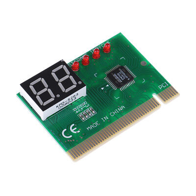 PC diagnostic 2-digit pci card motherboard tester analyze code For computer P B~