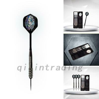 26g Professional Tungsten darts Set Steel Tips With Spare Shafts & Carry Case AU