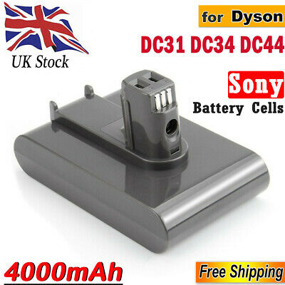 4Ah 22.2V Vacuum Cleaner Battery for Dyson DC31 DC35 Animal DC34 DC44 DC45 64167