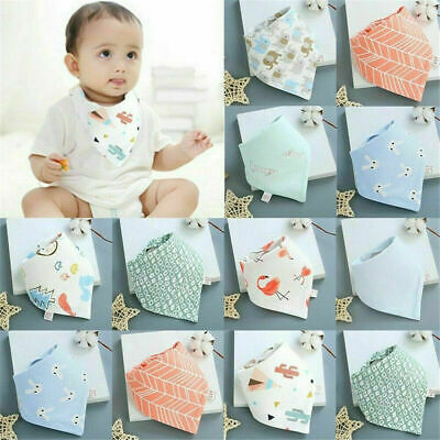 Baby Bandana Saliva Towel Triangle Dribble Bib Infant Boy Girl Feeding Accessory