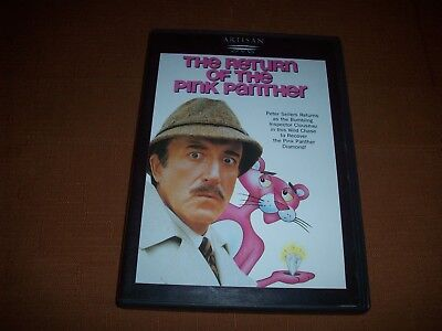 The Return Of The Pink Panther (1975) - Peter Sellers, Christopher Plummer (DVD)