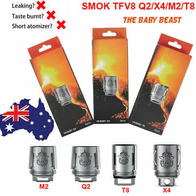 Smok TFV8 Baby V8 Cloud Beast Replacement Coil Head M2 Q2 X4 T6 T8 Q4 RBA