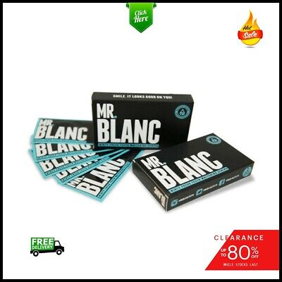 🔥 SALE 🔥 MR BLANC Teeth Whitening Strips, 14 pouches / 2 Week Supply, 100% NEW