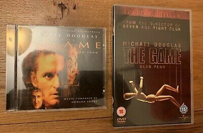 The Game Soundtrack OST CD Howard Shore David Fincher RARE + DVD