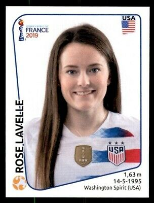 Panini Women's World Cup France 2019 Sticker #413 Rose Lavelle (USA) Soccer