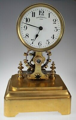ANTIQUE EUREKA CLOCK circa 1909 no. 14614 NO DOME