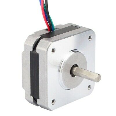 1X(17Hs08-1004S 4-Lead Nema 17 Stepper Motor 20Mm 1A 13Ncm(18.4Oz.In) 42 Mo Y6N1