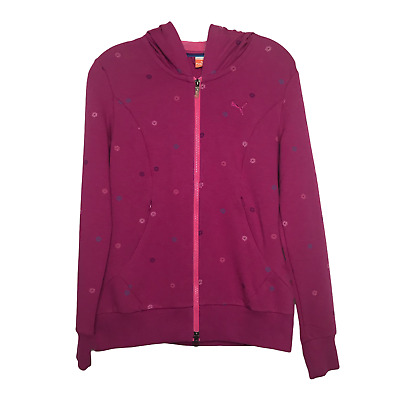 Women's Golf Puma Sport Lifestyle Long Sleeve Full Zip Jacket [Pink] Size: XS