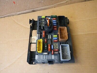 Peugeot 3008 5008  Bsm Under Bonnet Fuse Box Board 9675877980 / 2009-2016