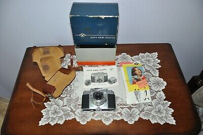 AGFA AMBI SILETTE 35mm Rangefinder Camera, Made in Germany