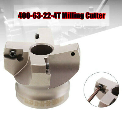 Milling Cutter Parts FMB22 75° 63MM Accessories Replacement High carbon steel