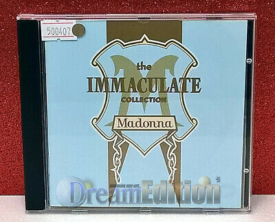 Madona: The Immaculate Collection [Sire] CD Anthology (1990) Pop, Dance [DEd]