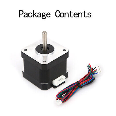 Nema 17 Stepper Motor 59Ncm(40oz.in) 2A 11 Cable 42mm For 3D-Printer CNC Reprap