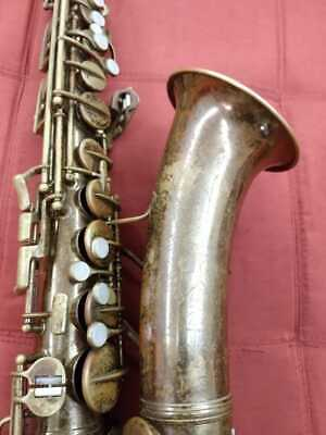 Conn 6M Naked Lady Alto Sax 1937-1938 Serial Number 282.xxx. Original lacquer.