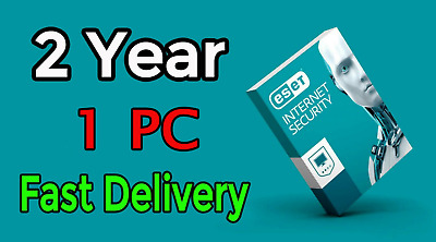 ESET INTERNET SECURITY 2019 Original 1 device - 2 YEAR License product Key