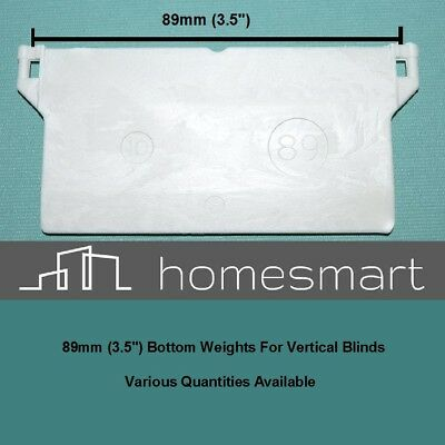 """Vertical Blind Bottom Weights 89mm (3.5"""") Repairs & Spare Parts"""