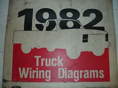1982 ford f600 f700 800 electrical wiring diagrams service schematic manual  shop