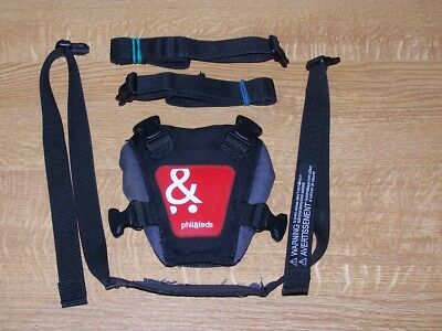 Phil And Teds Seat Buckle And Seat Straps With Clips#