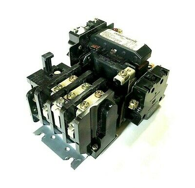 General Electric GE CR306C0/CR306CO ACDTPAK NEMA Size 1 Contactor/Starter