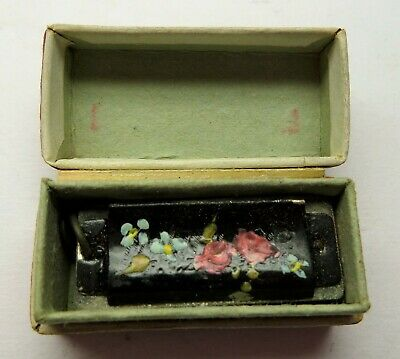 Vtg. My Little One - Charm Harp  Miniature Working Harmonica Mouth Organ Germany