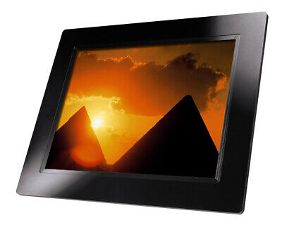 "Hama 8"" 800 x 600 Resolution HQ Digital Photo Frame 00095235 - Black (Ref 010)"
