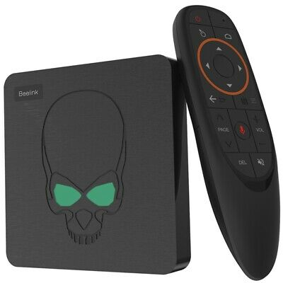 1X(Beelink Gt-King Ultimate Android 8.1 Tv Box Amlogic S922X Quad-Core Cpu E7M4