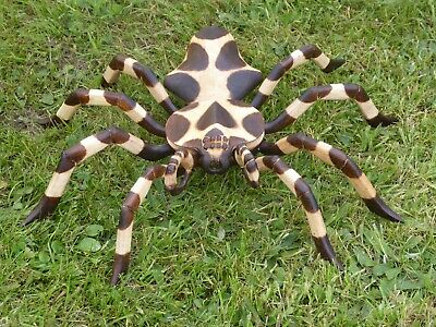 Wooden Spider Carving Wooden Hand Carved & Painted 40cm.....