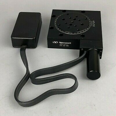"Newport 495 Series Motorized Rotatary Stage / Optical Positioner 3-1/4"" Dia."