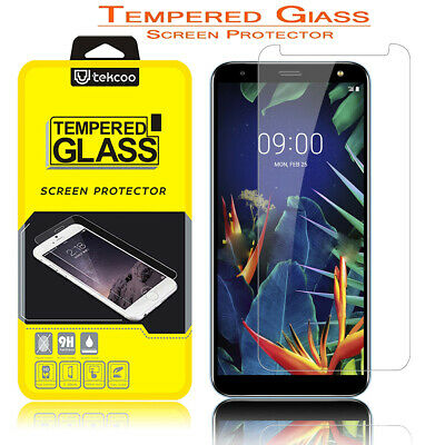 For LG Solo 4G LTE / K40/ K12 Plus Tempered Glass Screen Protector HD Clear Film